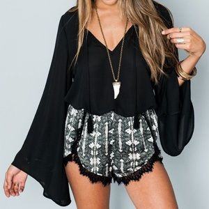 Show me your MuMu Knickers Silky Snake Shorts S